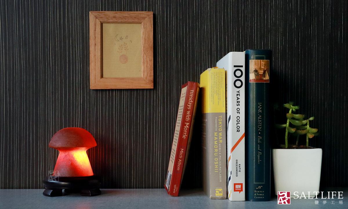 鹽燈,香菇燈,蘑菇燈,玫瑰鹽,USB鹽燈
